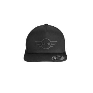mini-cap-wing-logo-flat-peak-black